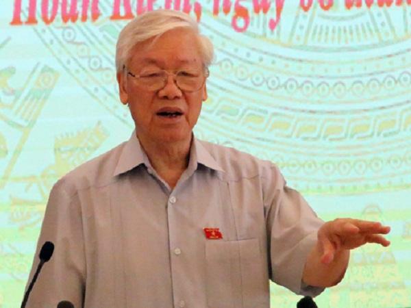 'Tổng bí thư được giới thiệu để bầu Chủ tịch nước không phải nhất thể hóa' - Ảnh 2
