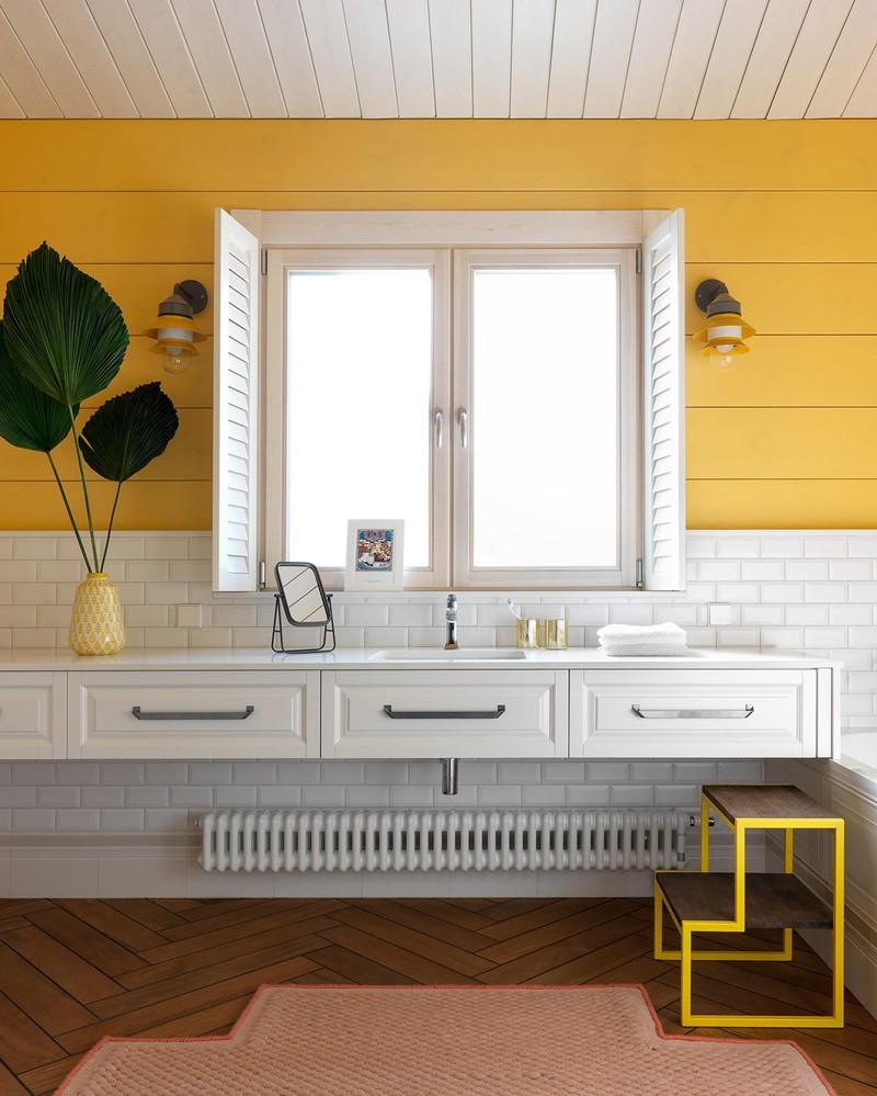 Ngôi nhà sở hữu nhiều màu sắc như một bức tranh - Ảnh 13