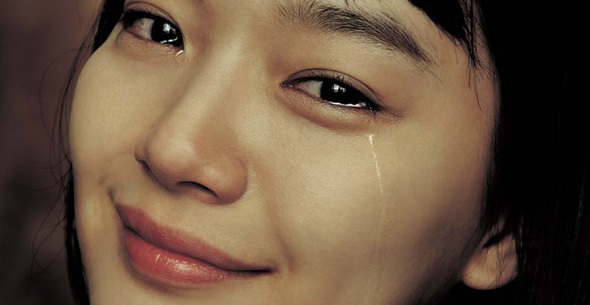 Mắt sưng sau khi khóc