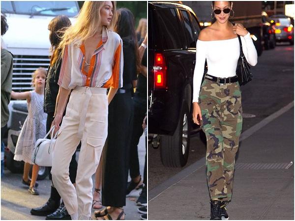 Xu hướng quần cargo cho thời trang mùa hè 2019