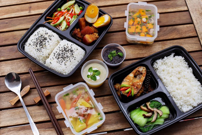 Ý tưởng kinh doanh đồ ăn trưa dễ thương theo phong cách Nhật Bản