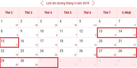 Đợt lễ 30/4/2019 và 1/5/2019 , cán bộ công chức, viên chức sẽ nghỉ 5 ngày liên tục