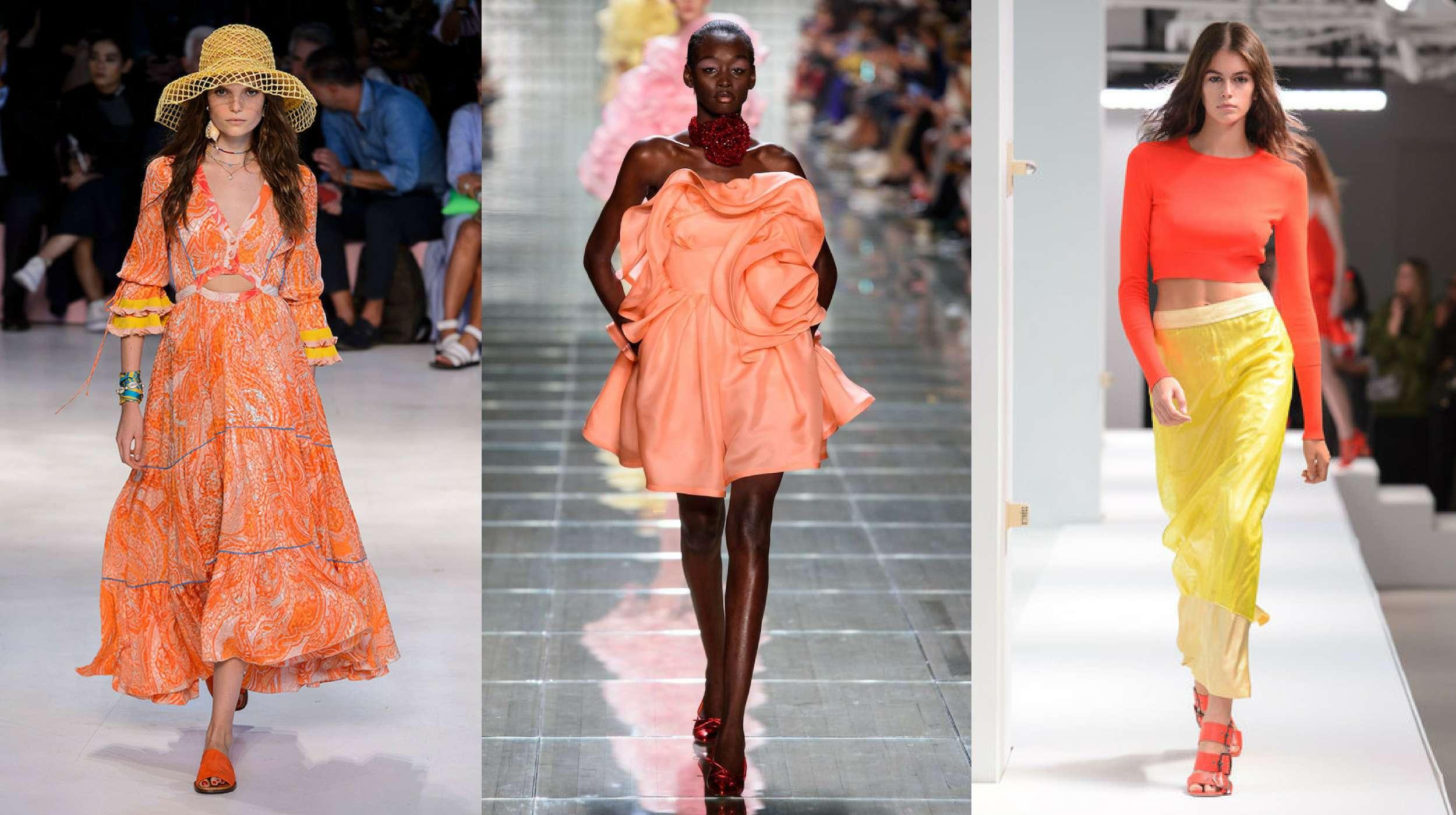 Đỏ cam là ngọn lửa rực rỡ tỏa sáng nhất và được dự báo sẽ bùng nổ trong năm nay