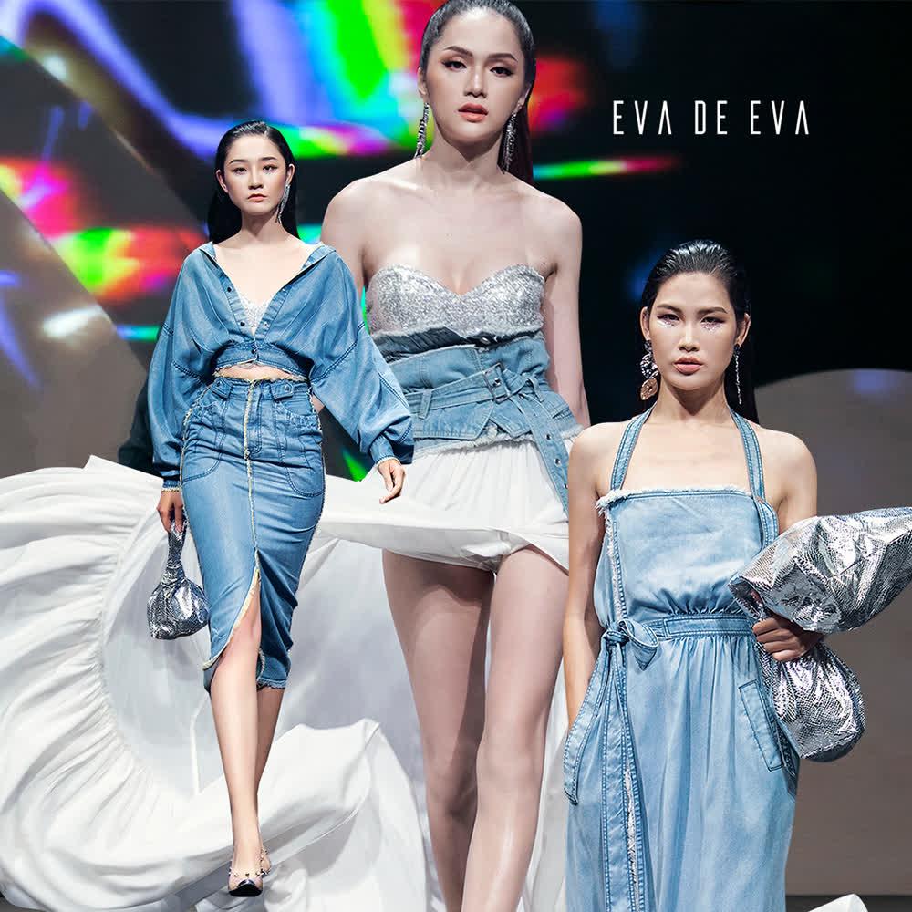 Sắc xanh da trời được các tín đồ thời trang yêu thích và là xu hướng được ưa chuộng trong xuân-hè năm 2019