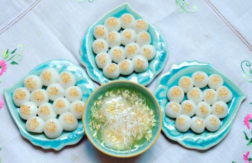 Bánh trôi bánh chay được người Việt dùng cho tết Hàn thực với ý nghĩa tượng trưng đó là những thức ăn nguội – hàn thực