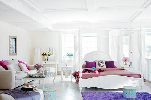Phong cách phòng ngủ ROMANCE SENSATION bay bổng