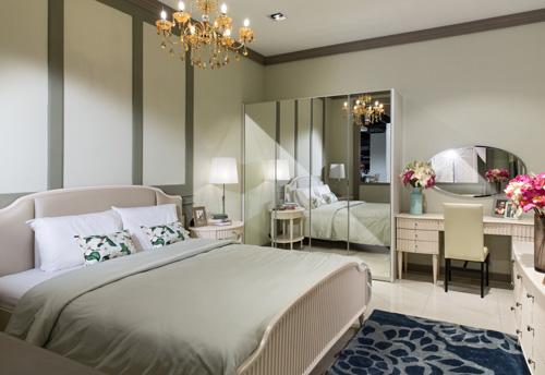 Thiết kế phòng ngủ theo phong cách sang trọng