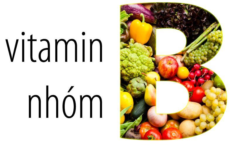 Vitamin B bao gồm 6 loại B1, B2, B3, B5, B6, B7, B9, B12 được xem là những