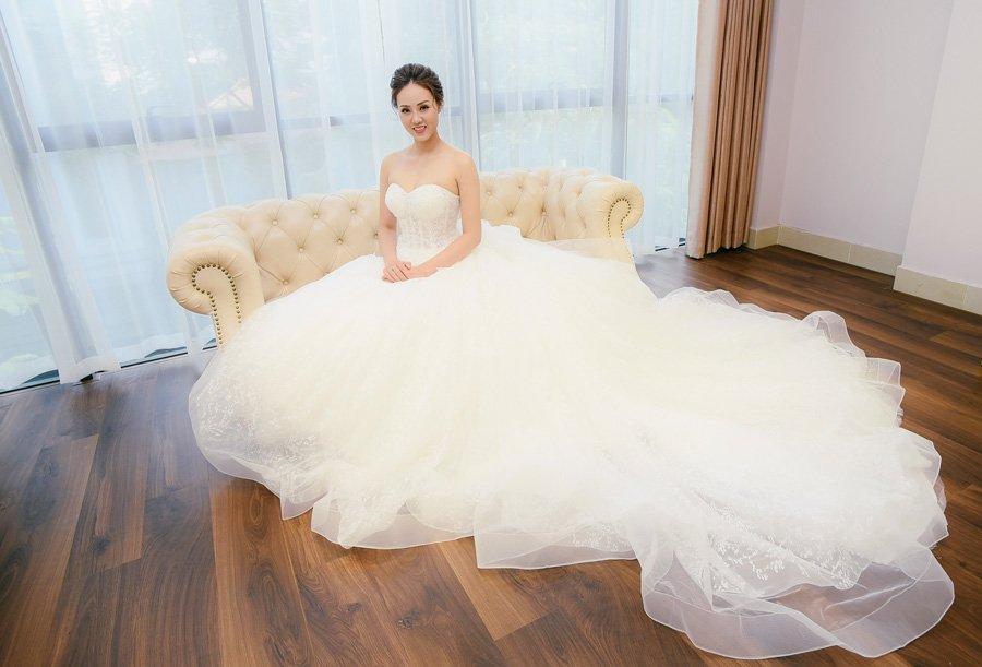 Bạn gái Công Lý đi chụp ảnh váy cưới, dân mạng xôn xao mong đợi tin vui - Ảnh 4