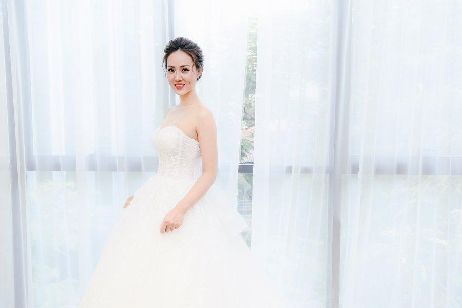 Bạn gái Công Lý đi chụp ảnh váy cưới, dân mạng xôn xao mong đợi tin vui - Ảnh 5