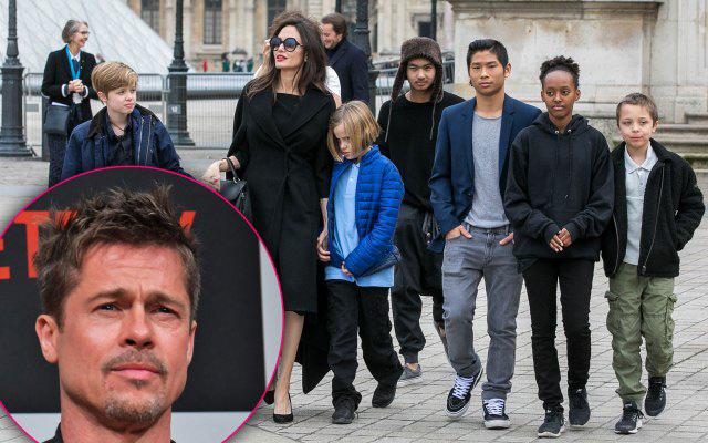 Brad Pitt phản đối cho các con đóng phim 'Tiên hắc ám 2' cùng mẹ - Ảnh 2