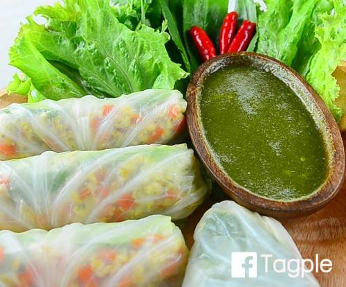 Sáng tạo với món bắp cải cuốn thịt gà, nấm rơm - Ảnh 2
