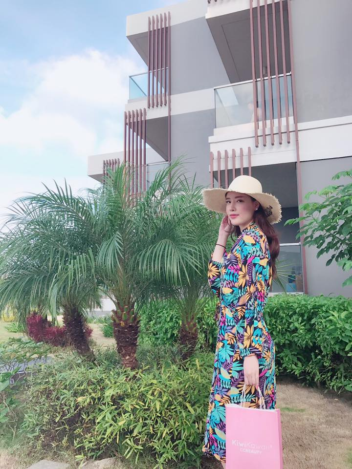 Khoe dáng nuột nà, em gái Mai Phương Thuý khiến cư dân mạng 'sốt sình sịch' - Ảnh 2