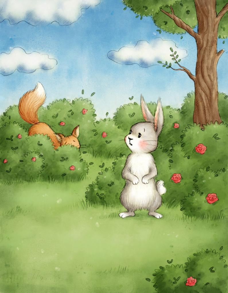 Câu chuyện kể cho bé trước giờ đi ngủ hay nhất về chú thỏ thông minh