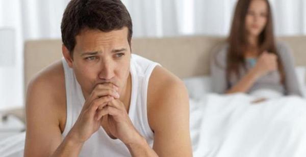 Rối loạn cương dương là dấu hiệu của yếu sinh lý nam