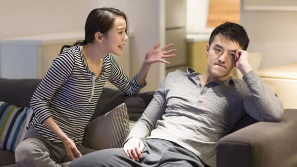 Vợ hay giận dỗi làm mất đi cảm xúc yêu đương