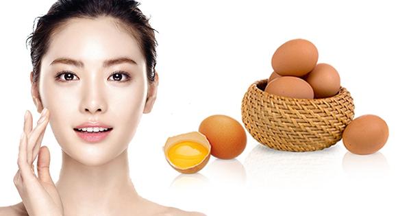 Làm đẹp da mặt bằng trứng ga