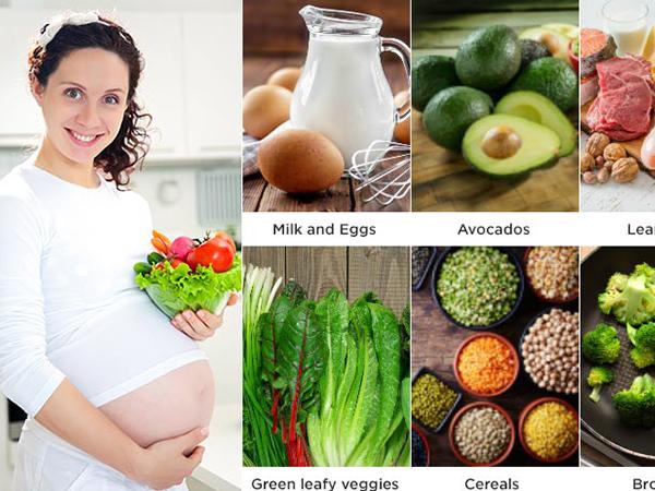 3 tháng cuối thực của mẹ bầu cần đầy đủ dưỡng chất
