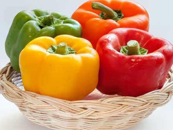 Ăn ớt chuông sống tốt cho sức khỏe