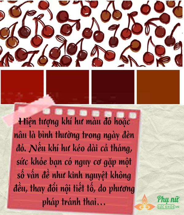 Xem màu sắc khí hư đoán tình trạng sức khỏe của phụ nữ - Ảnh 1