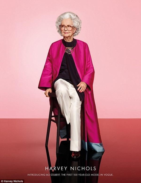 Lạ lùng những cụ bà trăm tuổi làm nghề... người mẫu