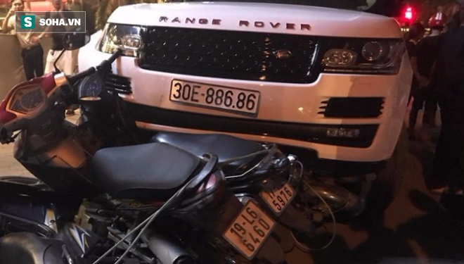 Đã xác định đối tượng cướp xe Range Rover rồi gây tai nạn liên hoàn ở Hà Nội - Ảnh 1