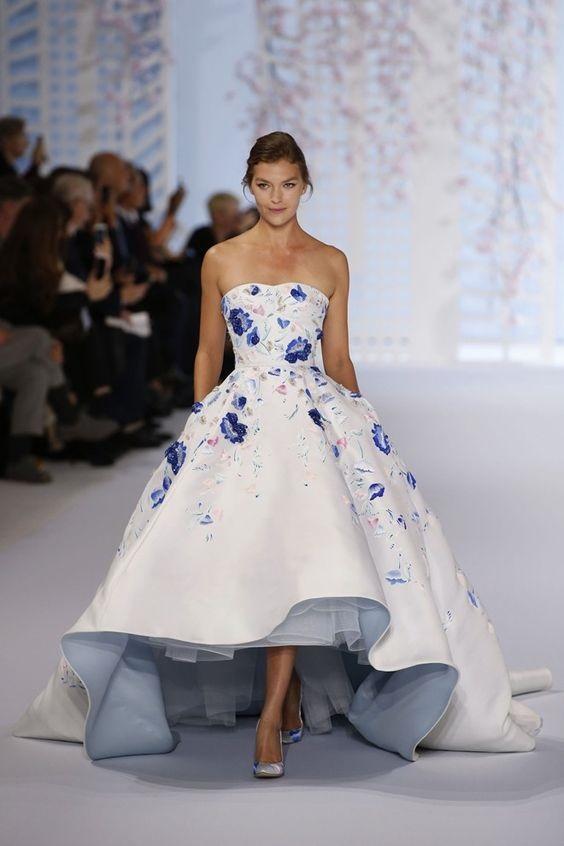 Váy cưới ngắn - xu hướng mới cho mùa cưới năm nay - Ảnh 13