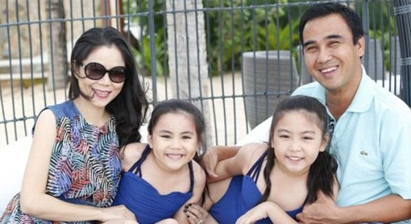 Những người vợ vừa xinh vừa giỏi làm hậu phương vững chắc cho các nam diễn viên điển trai Việt - Ảnh 6