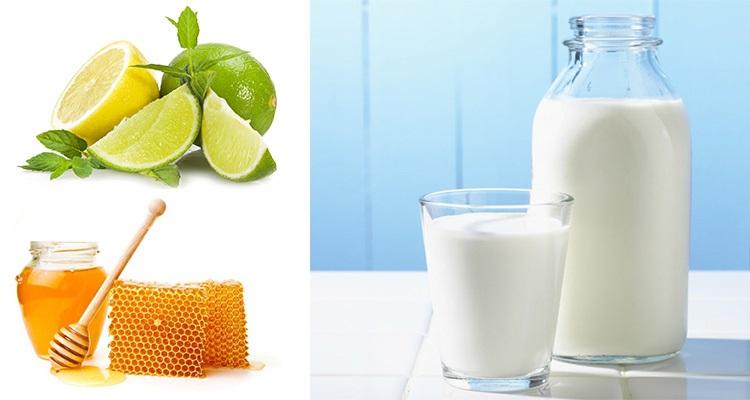 Muốn da trắng hồng không thể bỏ qua công thức sữa tươi lạnh, chanh, mật ong