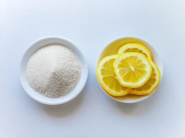Chanh và đường kết hợp giúp mang lại một làn da trắng hồng, căng mịn tươi tắn