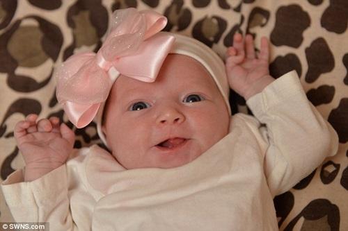 Da trắng, mắt to, bé gái sơ sinh này còn sở hữu đặc điểm lạ gây ngỡ ngàng - Ảnh 4