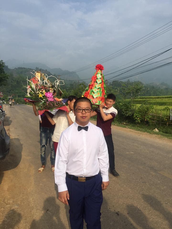 Xôn xao đám cưới cô dâu Sơn La trẻ măng và chú rể Trung Quốc giống bị down - Ảnh 3