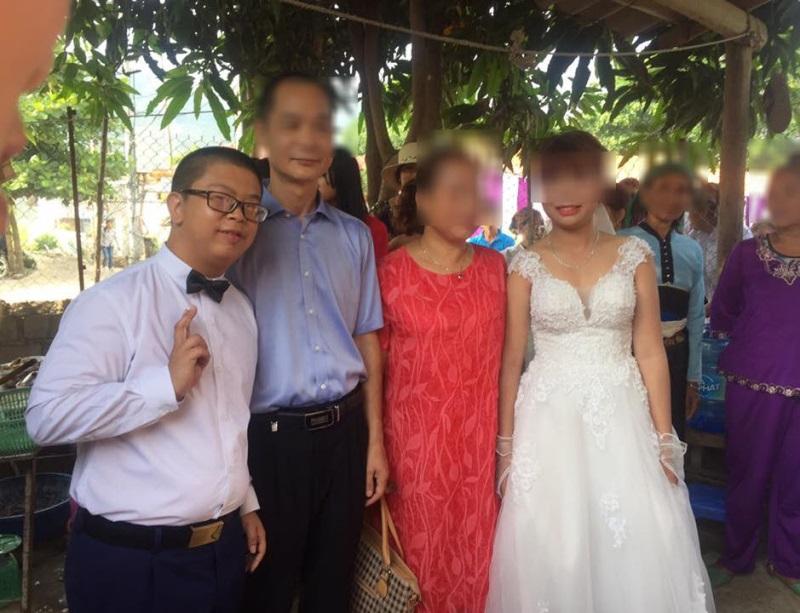 Xôn xao đám cưới cô dâu Sơn La trẻ măng và chú rể Trung Quốc giống bị down - Ảnh 5