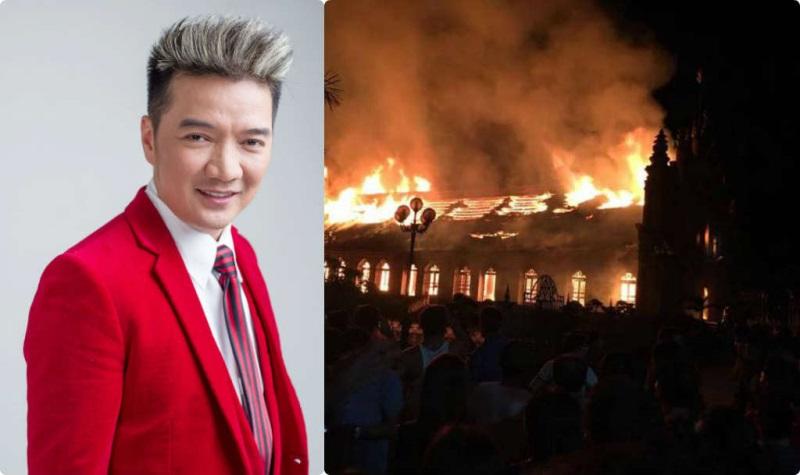 Fan nhiệt tình ủng hộ khi Mr.Đàm 'kêu cứu' giúp nhà thờ bị cháy - Ảnh 1