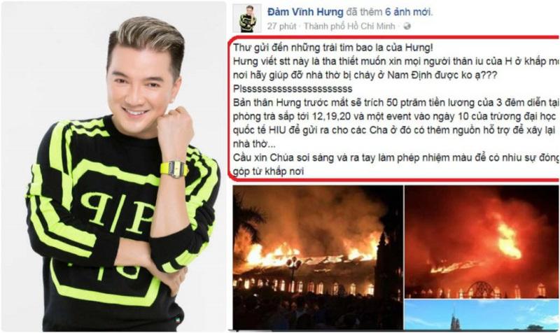 Fan nhiệt tình ủng hộ khi Mr.Đàm 'kêu cứu' giúp nhà thờ bị cháy - Ảnh 8