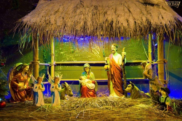 Người dân chen chúc tới biệt thự triệu đô của Đàm Vĩnh Hưng để chụp ảnh Giáng sinh - Ảnh 3