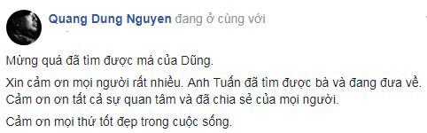 Hốt hoảng cầu cứu cộng đồng mạng, đạo diễn Nguyễn Quang Dũng nghẹn ngào hạnh phúc khi tìm được mẹ 80 tuổi thất lạc - Ảnh 5