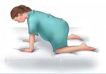 10 tư thế giảm đau khi chuyển dạ mà mẹ bầu cần biết   - Ảnh 9