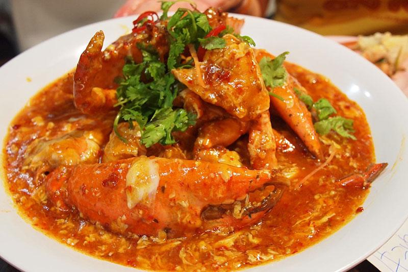 Món cua sốt Singapore cực ngon và hấp dẫn