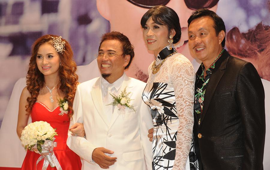 Chuyện lạ trong đám cưới Quyền Linh, Tăng Thanh Hà - Ảnh 6