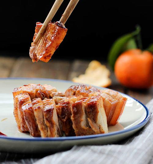 Thịt ba chỉ nướng mật ong thơm lừng - Ảnh 3