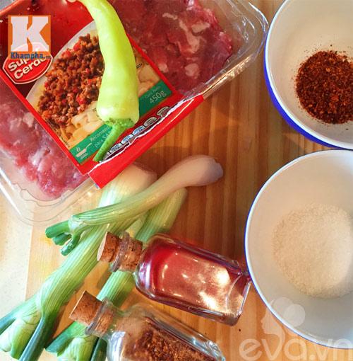 Thịt băm rang chua cay mặn ngọt - Ảnh 1