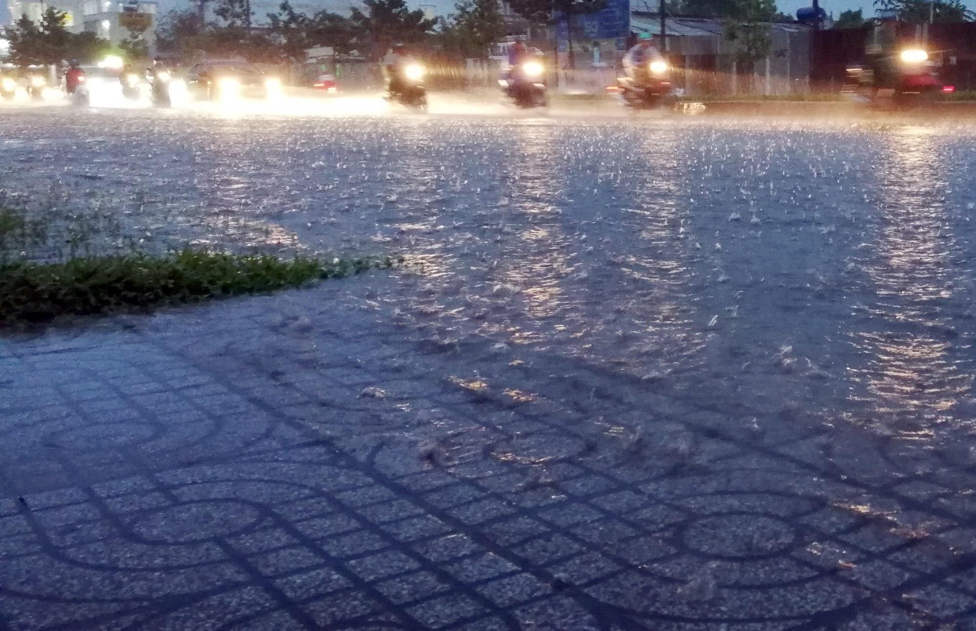 Sài Gòn ngập kinh hoàng, cây ngã đè người đi xe máy tử vong trong tâm bão - Ảnh 5