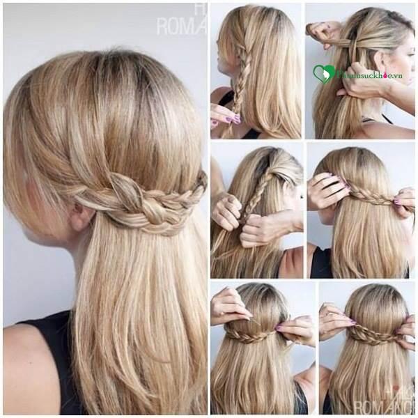 Dạy các kiểu tết tóc đẹp đơn giản mà ấn tượng cho bạn đi chơi cuối tuần - Ảnh 2