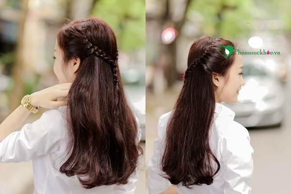 Dạy làm tóc đẹp đơn giản cho bạn gái đi chơi ngày Noel - Ảnh 4