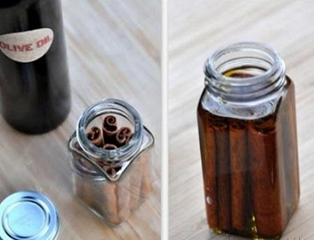 Bí quyết giảm cân hiệu quả với quế ngâm dầu olive