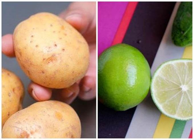 Chà 1 lát khoai tây lên mặt, da trắng bóc, mụn và nám sạch bách chỉ sau 1 tuần - Ảnh 2