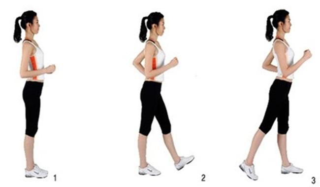 Đi bộ giảm mỡ bụng đúng cách.