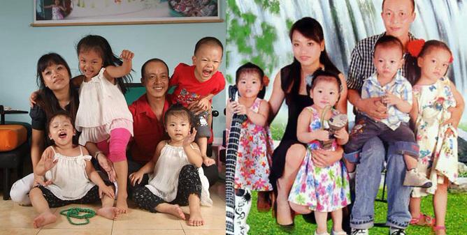 Cuộc sống của những gia đình đông con nhất showbiz Việt - Ảnh 3
