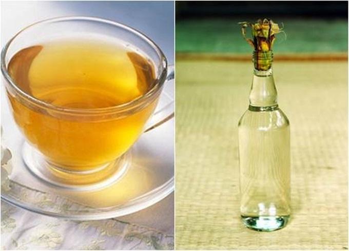 Rượu trắng + Nước trà xanh: 'Thần dược' giúp loại bỏ thâm nám, trị mụn và dưỡng da trắng mịn chỉ sau 7 ngày - Ảnh 1
